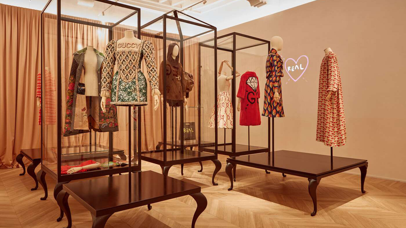 The gucci museum in florence