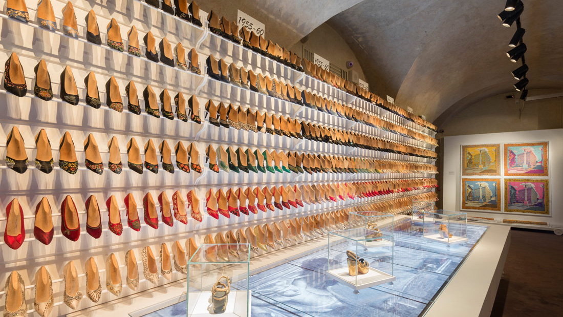 The ferragamo fashion museum in florence