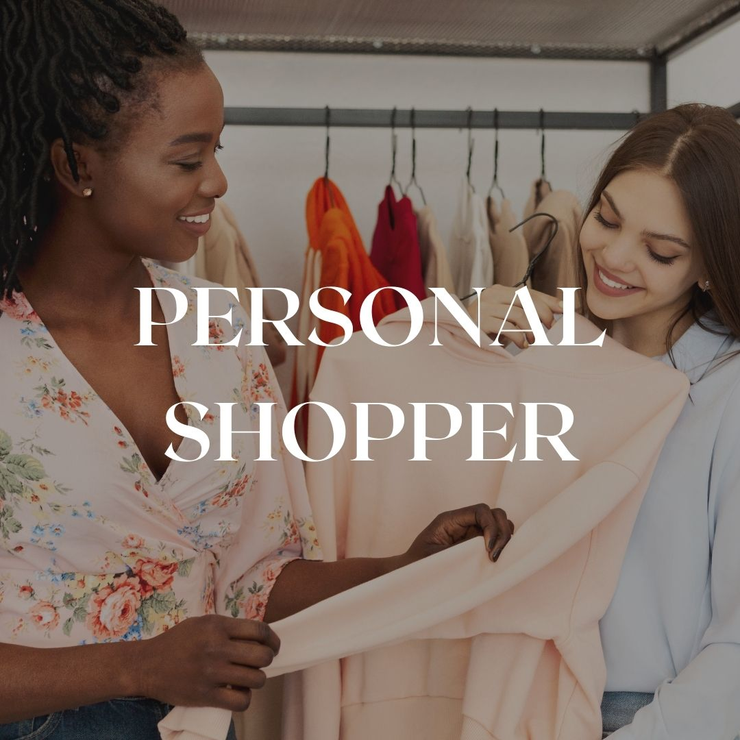 personal shopper class in Florence or online