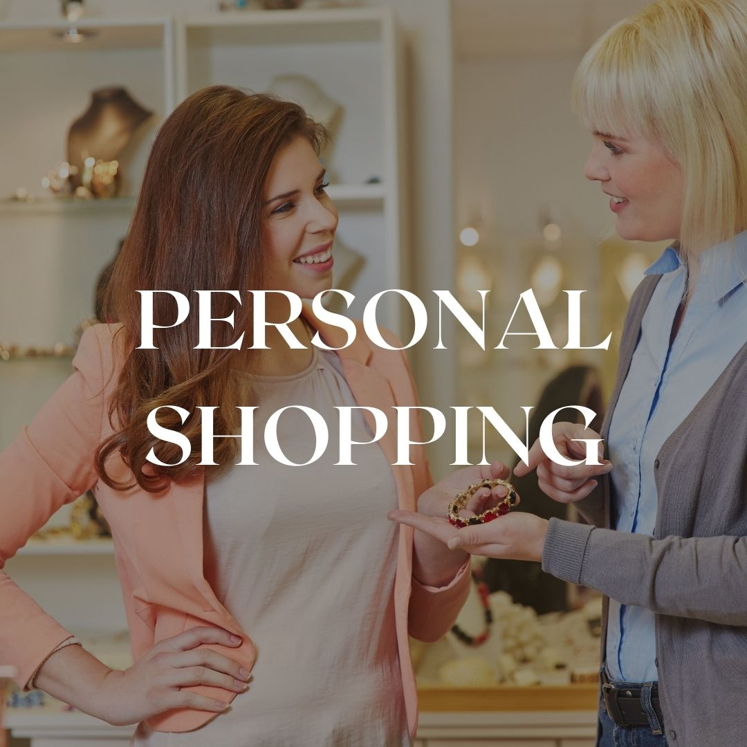 personal shopping in Florence or online