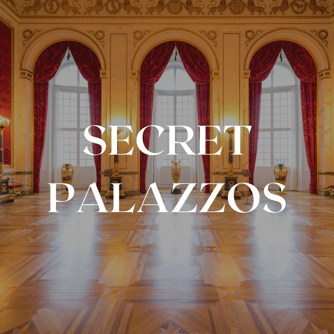 Our secret palazzos tour is for fashion, art, and design lovers in Florence