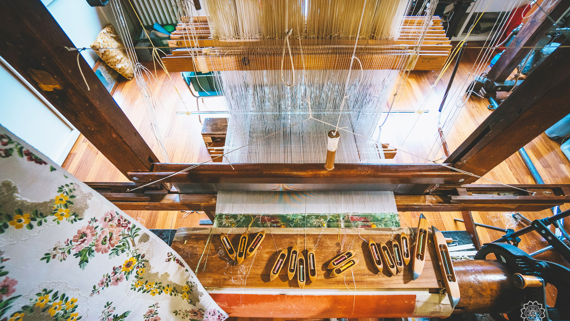 The silk museum in florence