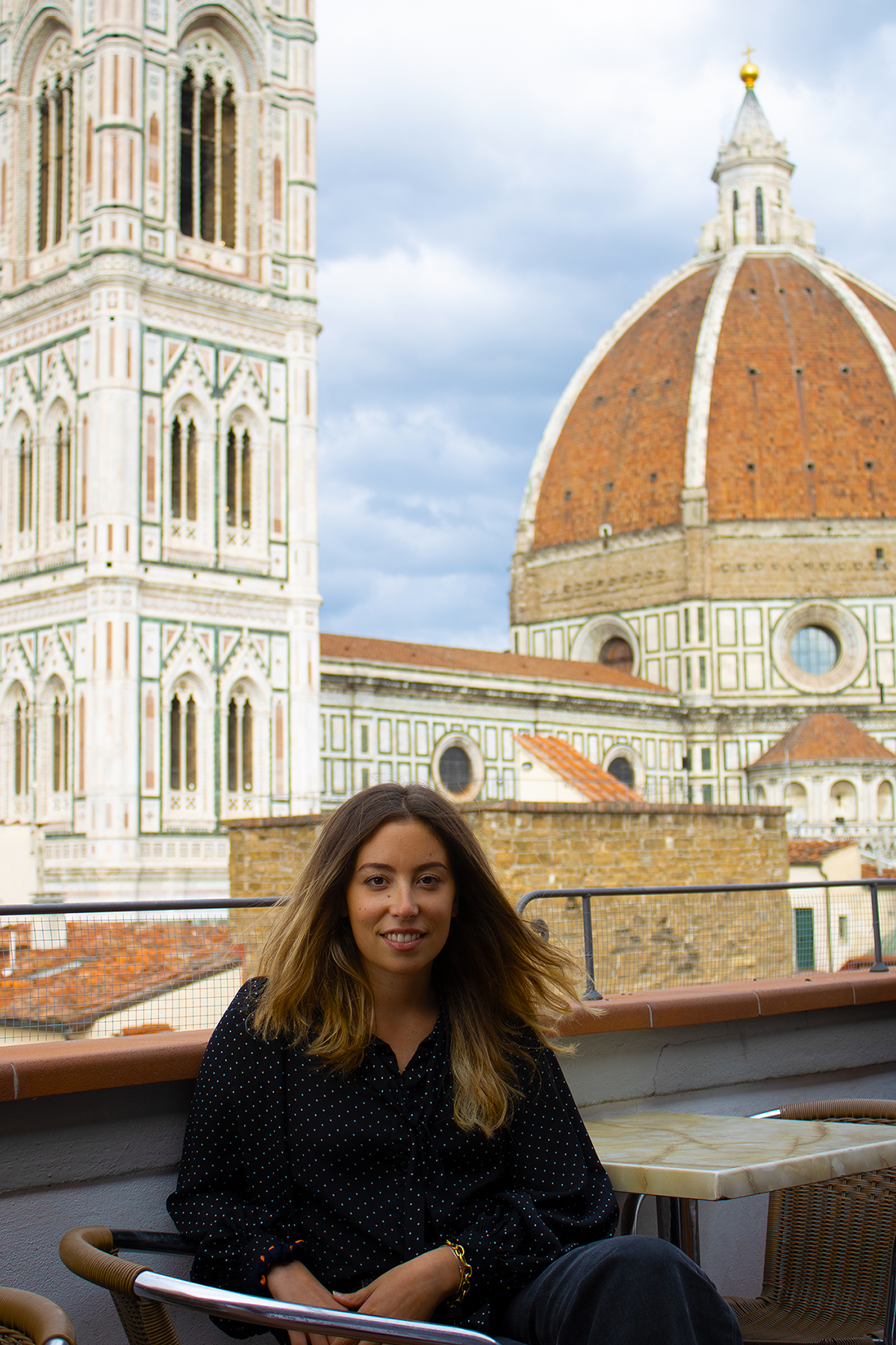 Alice Cozzi is the founder of Florence Fashion Tour