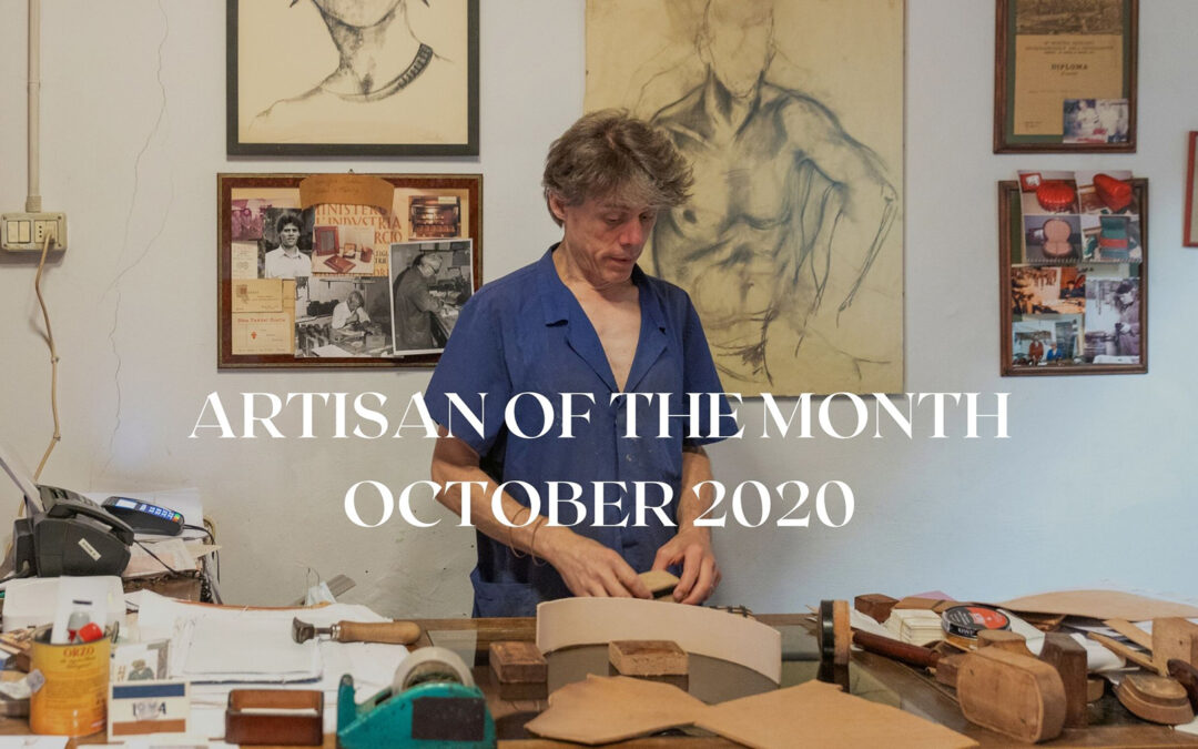 Simone Taddei is the artisan of the month