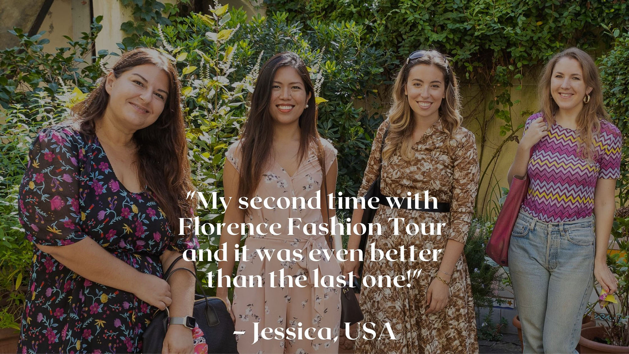 Women empowerment through style and fashion in Florence and online