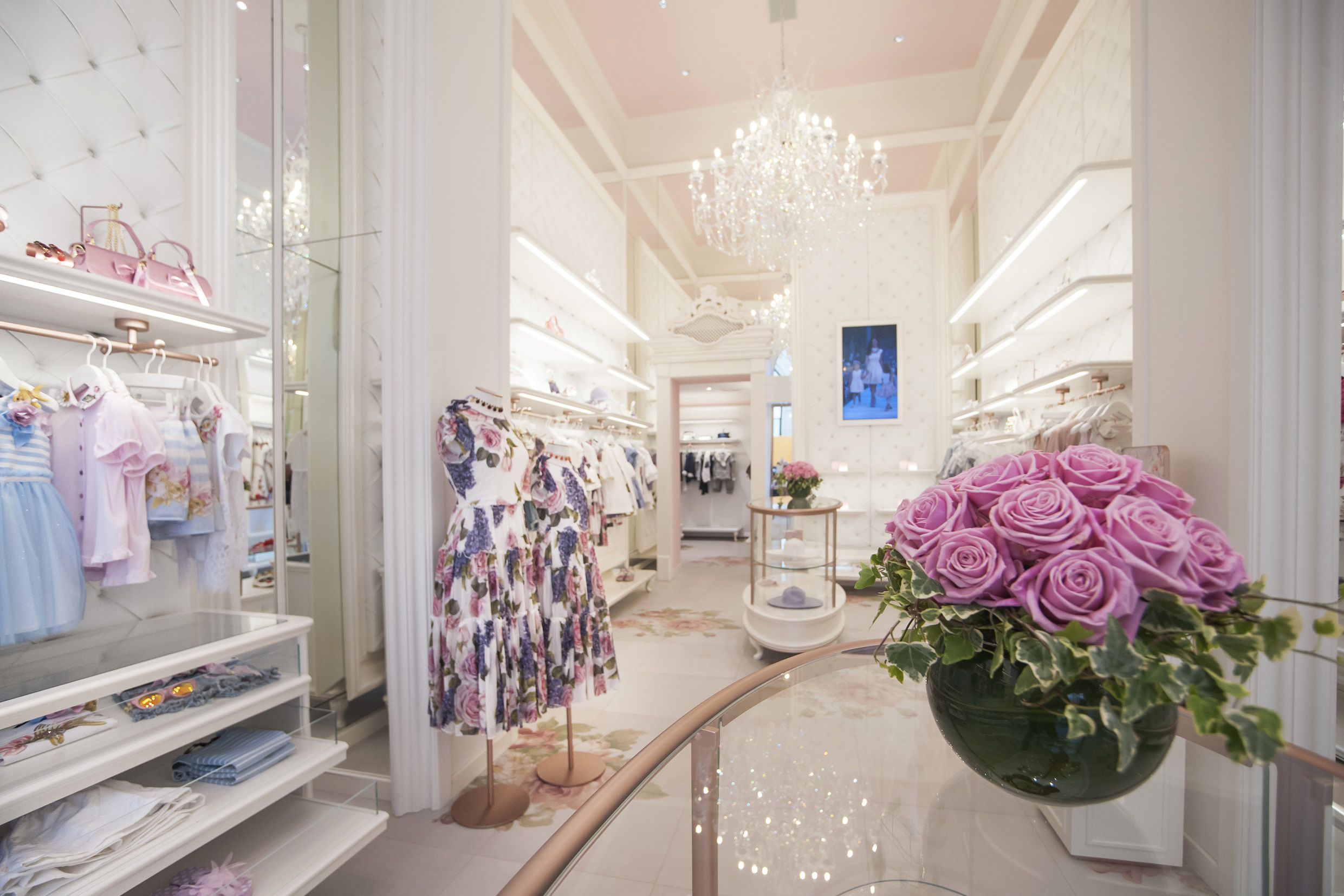 Monnalisa store in Florence is a great place to shop for children